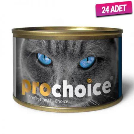 Pro Choice Adult Sardayla ve Hamsili Yetişkin Kedi Konservesi 80 Gr - 24 Adet