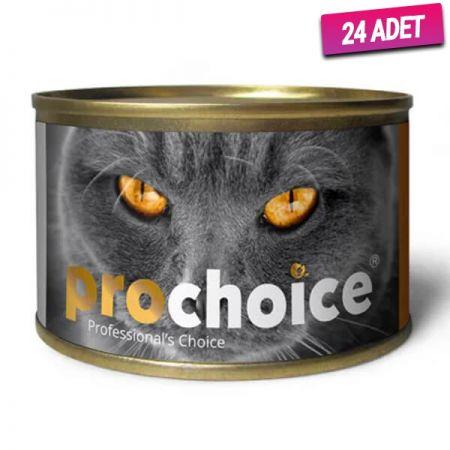 Pro Choice Adult Tavuklu Yetişkin Kedi Konservesi 80 Gr - 24 Adet