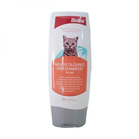 Bioline Kedi Şampuanı Çok Renkli Kediler İçin 200 ML