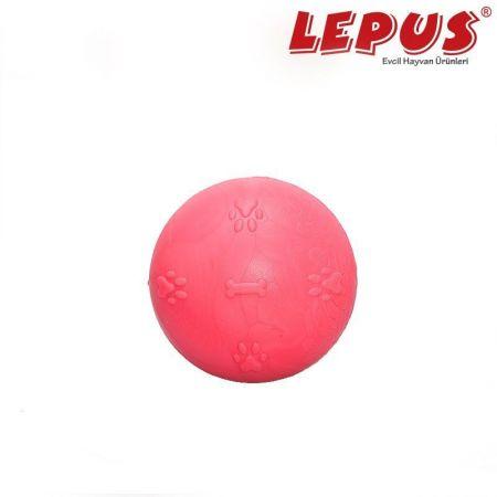 Lepus Ağız ve Diş Sağlığı İçin Küçük Top Köpek Oyuncağı Fuşya 5 cm