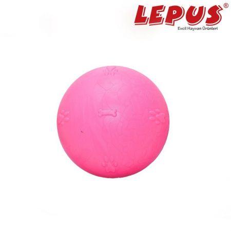 Lepus Ağız ve Diş Sağlığı İçin Büyük Top Köpek Oyuncağı Pembe 6,5 cm