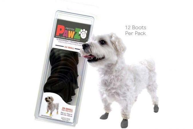 Pawz Köpek Galoşu - Siyah (2XS)