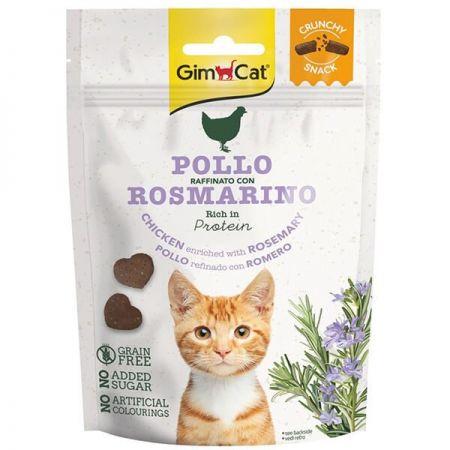 Gimcat Tahılsız Tavuk ve Biberiyeli Atıştırmalık Kedi Ödül Bisküvisi 50 Gr