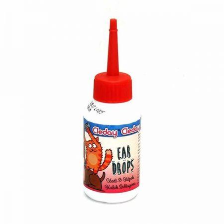 Cleday Kedi ve Köpek Kulak Solüsyonu 50 ml
