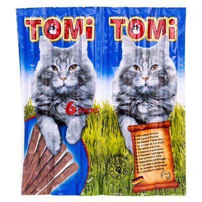 Tomi Somon ve Alabalıklı Stick Kedi Ödülü 6x5 Gr