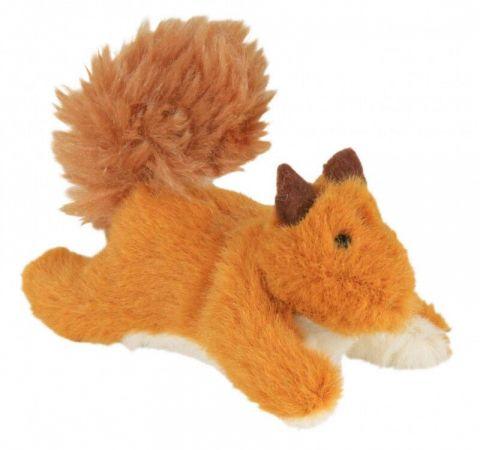 Trixie Kedi Oyuncağı  Peluş Sincap  Kediotlu 9 Cm