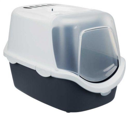 Trixie Kedi Kapalı Tuvalet Kabı  40×40×56 Cm Gri