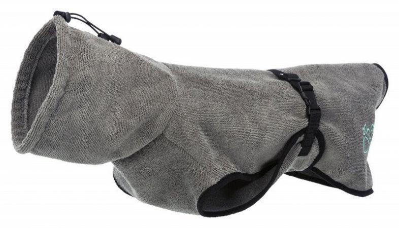 Trixie Köpek Havlu Bornoz  XL : 70 Cm  Gri
