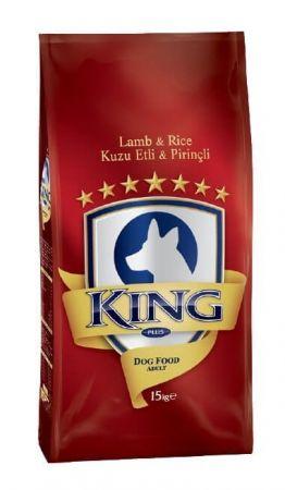 King Kuzu Etli Yetişkin Köpek Maması 15 Kg