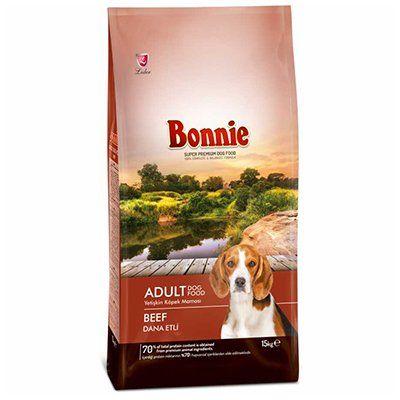 Bonnie Biftekli Yetişkin Köpek Maması 15 Kg