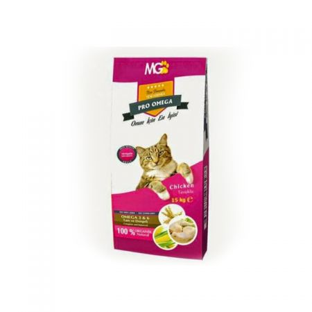 Mg Pro Omega Tavuklu Yetişkin Kedi Maması 15 KG