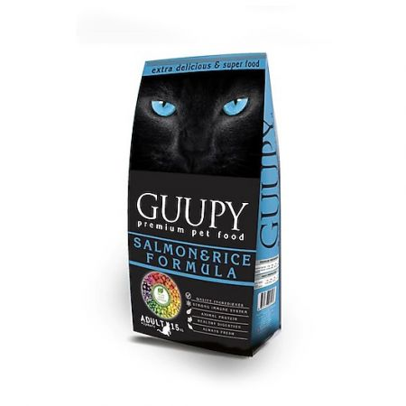 Guupy Somonlu Kedi Maması 15 Kg