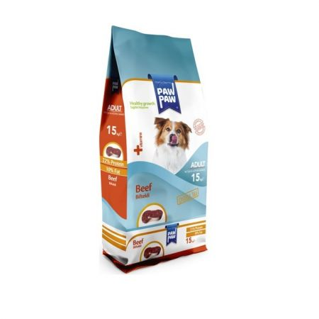 Paw Paw Kuzu Etli Pirinçli Yetişkin Köpek Maması 15 Kg