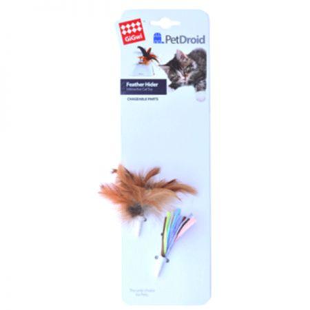 Gigwi Pet Droid Sensörlü Kedi Oyuncağı Yedek Tüylü + Kagıt