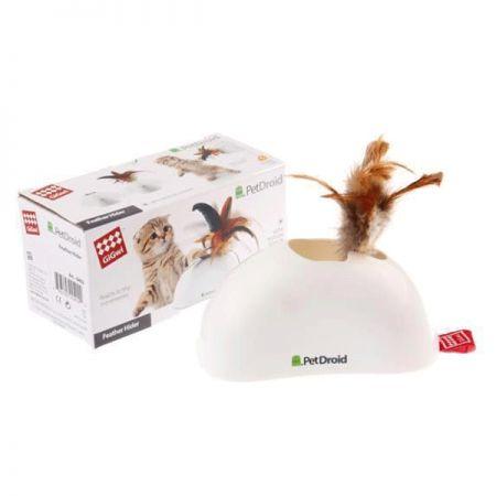 Gigwi Pet Droid Hareket Sensörlü Doğal Tüylü Kedi Oyuncağı 15 Cm