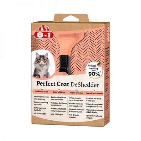 8 in 1 Perfect Coat Kedi Tüy Toplayıcı Tarak Small