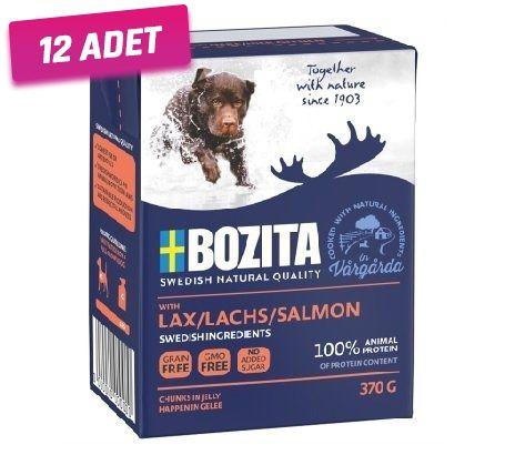 Bozita Somon Balıklı Tahılsız Köpek Konservesi 370 Gr - 12 Adet