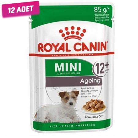 Royal Canin Ageing +12 Gravy Pouch Yaşlı Köpek Maması 85 Gr - 12 Adet